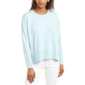 NWT French Connection Blue Della Vhari Sweater XL